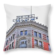 Hotel Lafayette  Throw Pillow