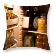 Hotel Mini-bar Throw Pillow