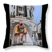 Hotel Negresco France Throw Pillow