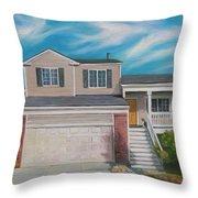 House Commision Throw Pillow