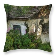 House For Sale Throw Pillow