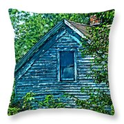 House In The Woods Art Throw Pillow
