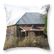 House Indian Gap Tx Throw Pillow