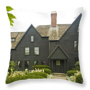House Of 7 Gables Throw Pillow