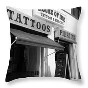 House Of Ink II Throw Pillow
