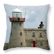 Howth Lighthouse 0001 Throw Pillow