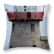Howth Lighthouse 0002 Throw Pillow
