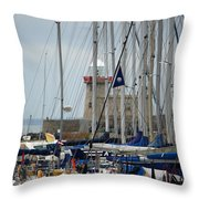 Howth Lighthouse 0003 Throw Pillow