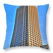 Hsbc Tower Throw Pillow