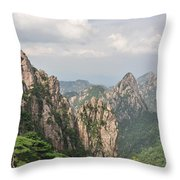 Huangshan Granite 1 Throw Pillow