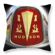 Hudson Grill Ornament  Throw Pillow