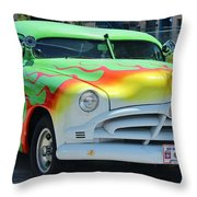 Hudson Low Rider Roadster Throw Pillow