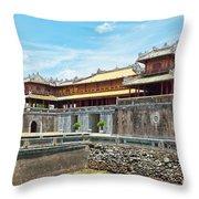 Hue Citadel Throw Pillow