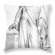 Hugh Capet (c938-996) Throw Pillow