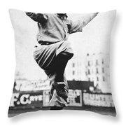 Hughie Jennings (1869-1928) Throw Pillow