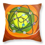 Human Birth Sign Throw Pillow