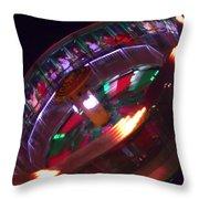 Human Roulette Wheel Throw Pillow