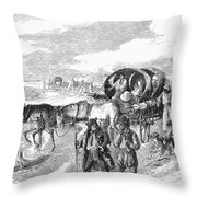 Hungarian Gypsies, 1874 Throw Pillow
