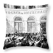 Hungarian Home Rule, 1848 Throw Pillow by Granger