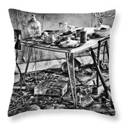 Hungry Helpers Throw Pillow