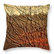 Hungry Vines Throw Pillow