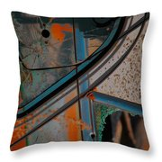 Hunt For Colours  Throw Pillow