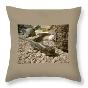 Hunter And Hunted Throw Pillow