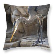 Hunting The Easy Way Throw Pillow
