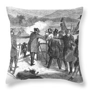 Hunting: Turkey, 1867 Throw Pillow