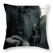 Hunting Wild Dancers 2 Throw Pillow