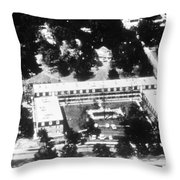 Hurricane Camille Sequence, 1 Of 2, 1969 Throw Pillow