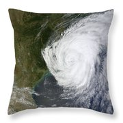 Hurricane Isaac Makes Its Second Throw Pillow