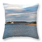 Hyannisport At Sunset Throw Pillow