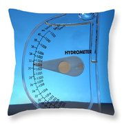 Hydrometer Throw Pillow