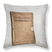 Hymnal Throw Pillow