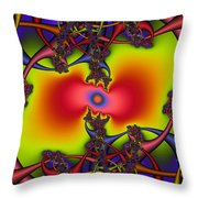 Hyper Throw Pillow