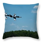 I 39 Fighter Jets Throw Pillow