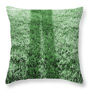 i Alone Throw Pillow by Luke Moore