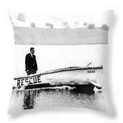 I Am Coming To Save You Throw Pillow