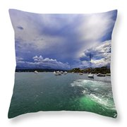 I Am Sailing Throw Pillow