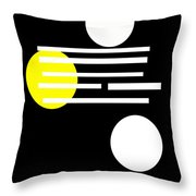 I Ching 1 Throw Pillow