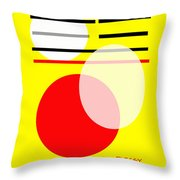 I Ching 5 Throw Pillow