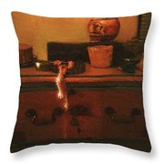 I Do Love Pearls Throw Pillow by RC deWinter