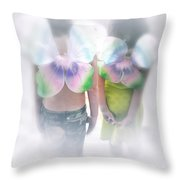 I Dreamed I Was A Butterfly Throw Pillow