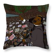 I Have A Dream Throw Pillow by Karen Elzinga