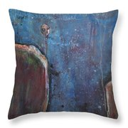I Know You Are Out There Throw Pillow