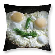 I Like To Cook Differently. Morning Creation. Throw Pillow