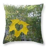 I Love Autumn 02 Throw Pillow