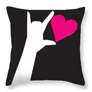 I Love You Sign Throw Pillow