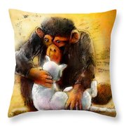 I Love You So Much Babe Throw Pillow